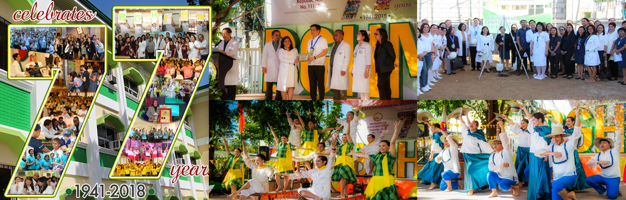 Bataan General Hospital and Medical Center celebrates 77 years
